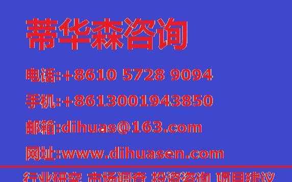 2015-2020年中国 纺织机械 行业市场研究分析报告