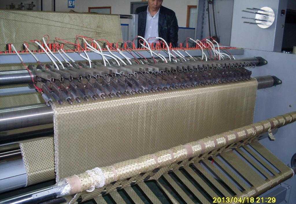 温州纺织机械热切分条机拓步专业生产