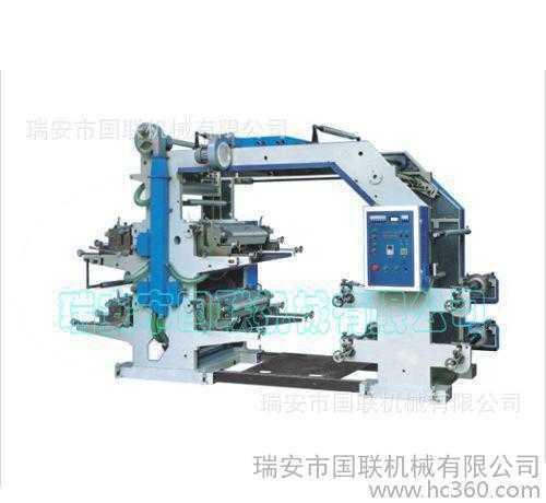 直销 冥纸印刷机 四色印刷机 可印无纺布印刷机 上门安装调试