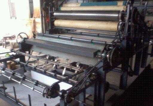 自动收卷卷筒纸水墨印刷机