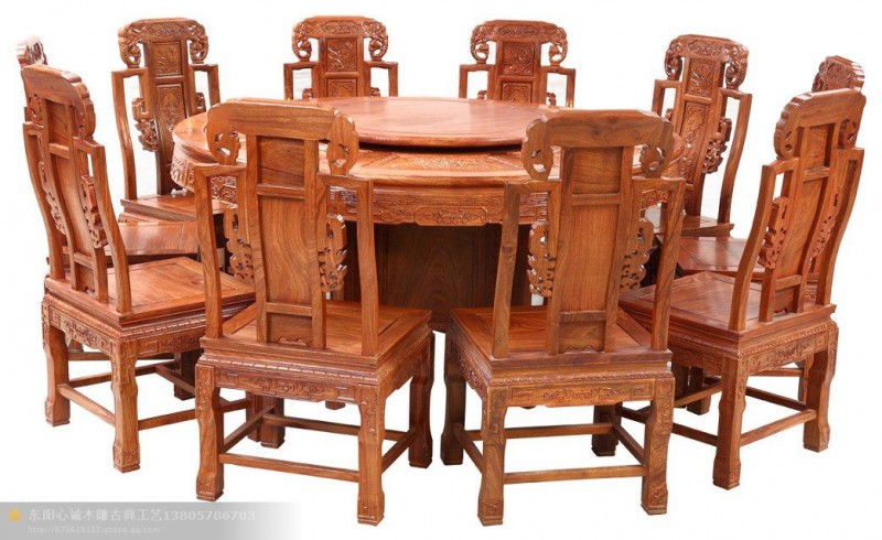 红木餐桌 红木家具加盟 红木家具价格
