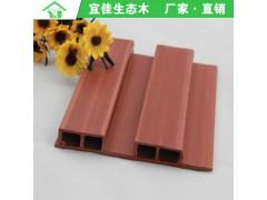 产品集中地厂家直销 新型环保木塑材料 吊顶墙裙 生态木137长城板