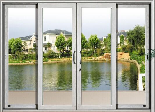 佛山铝门窗,断桥门窗厂家,复合门窗,双轨双趟二轨推拉玻璃门