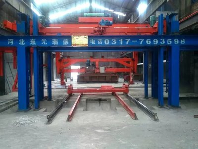 东光瑞德专业生产蒸压加气混凝土砌块全套设备 欢迎参观考察