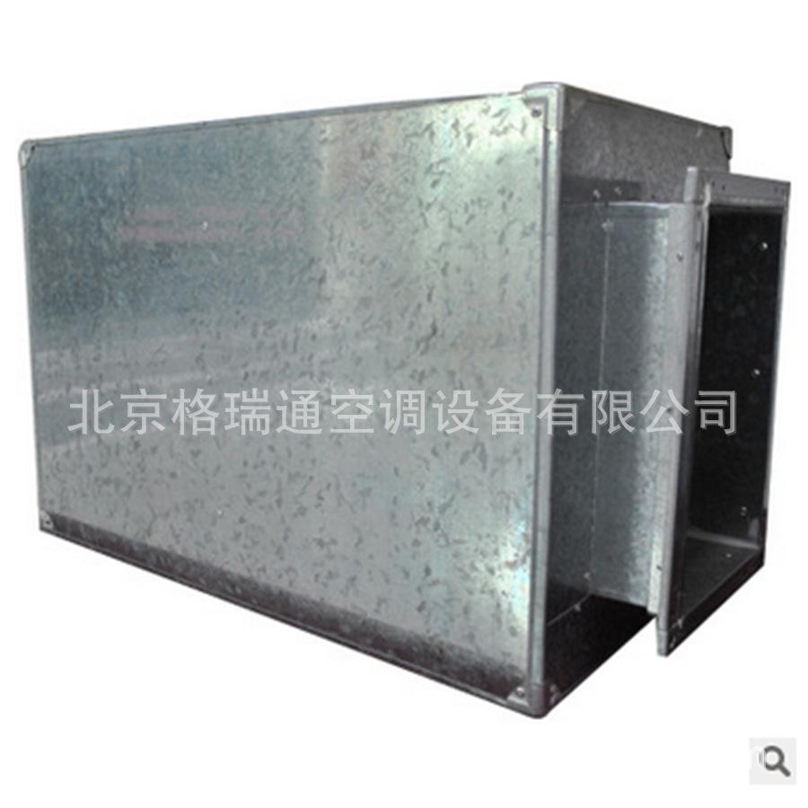 供应空调消声器 阻抗复合式消声器 高频噪声消声