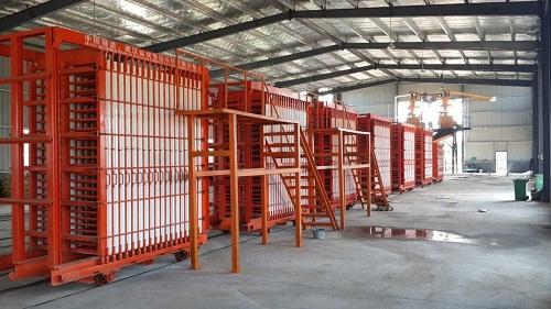 硅酸钙轻质墙板模具
