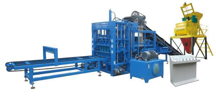 粉煤灰砌块液压水泥砖机 自动空心砖机 水泥砖全自动设备
