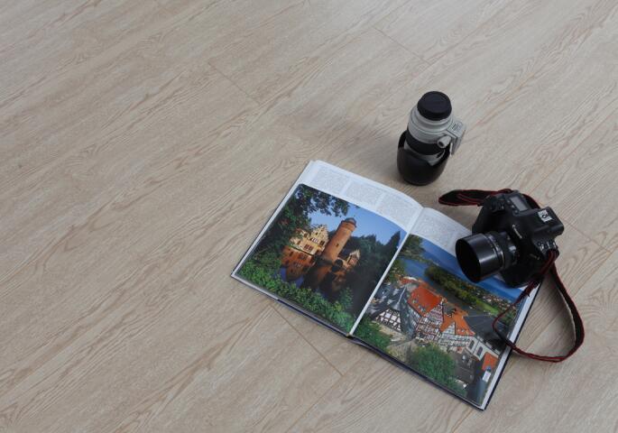 强化地板,精英系列,B6601经典白橡