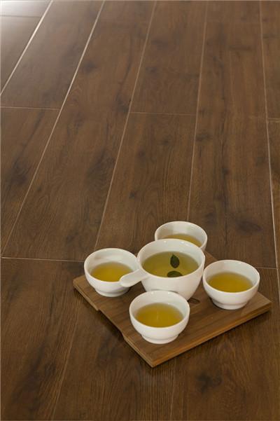 强化地板,美居系列,B8661伯爵黑橡