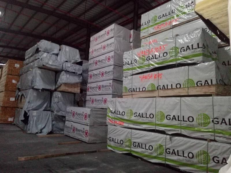 东莞森隆木业供应进口松木欧洲芬兰松板材 床板料 室内装修
