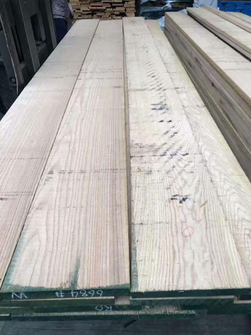供应北美材实木家具材 红橡实木楼梯料 进口实木地板材