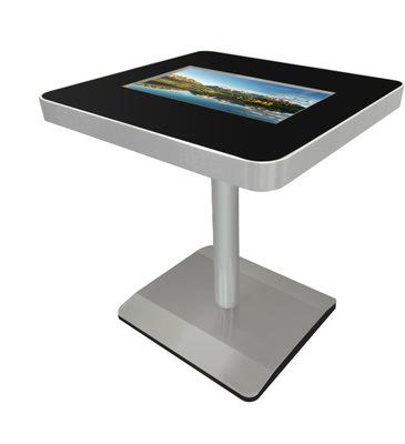 玛威尔22寸触摸咖啡桌 自助落地式多点触控智能广告机