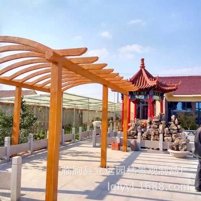 园林花架、公园凉亭、公园椅子、公园设施