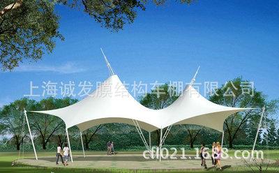 膜结构园林亭子 公园设施 景观工程