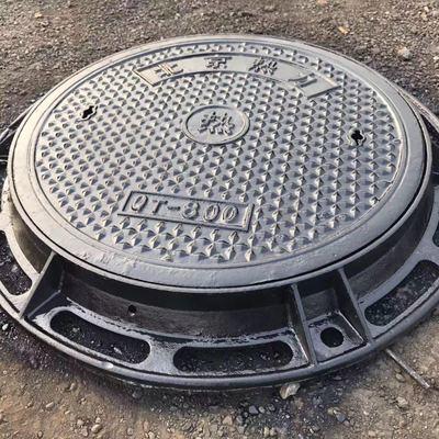 球墨铸铁井盖 铸铁雨水篦子 市政井盖