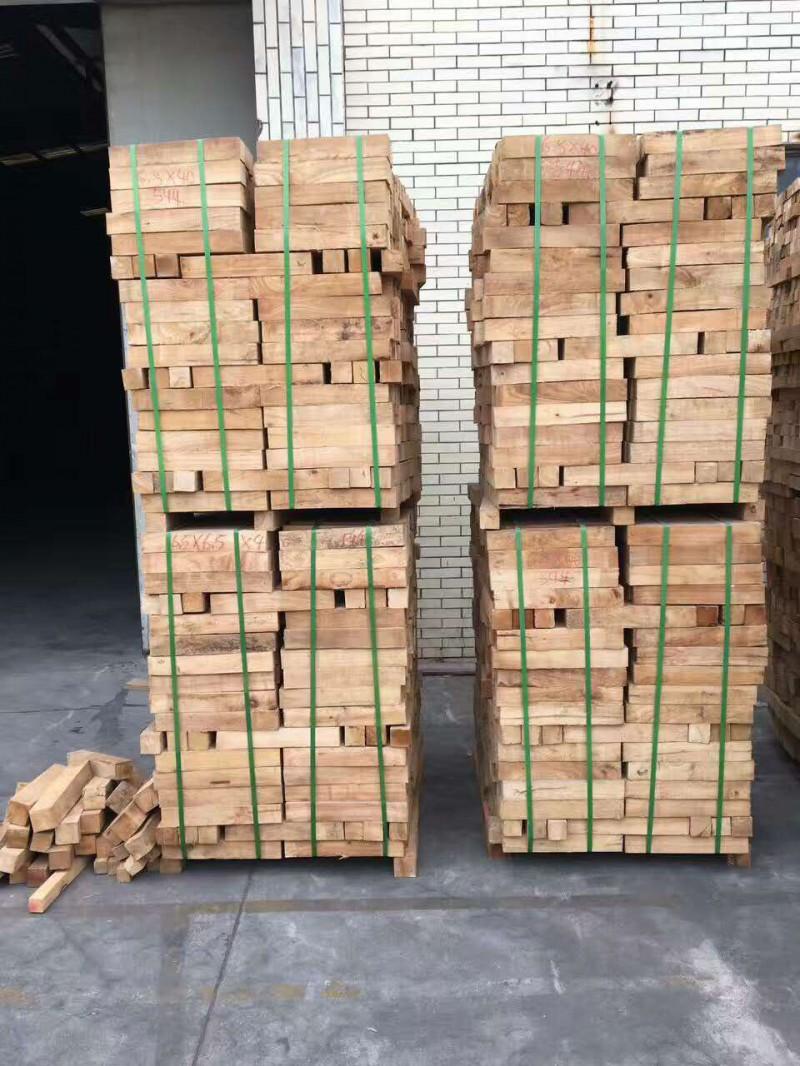 国产海南橡胶木自然板木材家具材实木原木板材橡胶木方