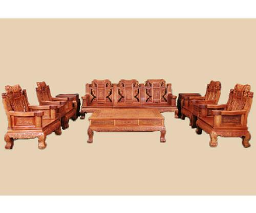 新型建材 东作红木沙发DZ214 环保家具