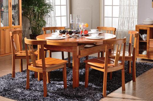 随心所变可伸缩方圆桌餐厅套装 新技术家具 多功能餐桌