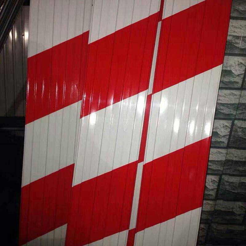 河北沧州献县市场厂家直销建筑施工 安全警示板分色板踢脚板