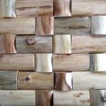 天然木材实木装饰材料马赛克