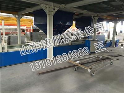 供应硫氧镁玻镁板制板机新品介绍 玻镁复合板生产线