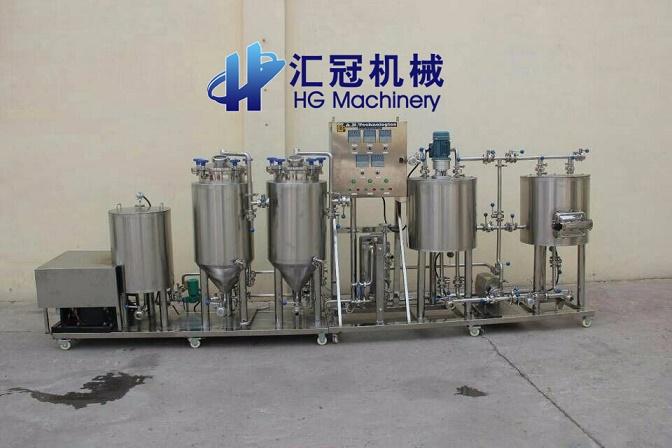 汇冠啤酒设备50-3000L整套设备