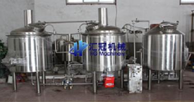汇冠啤酒设备50-3000L糖化设备