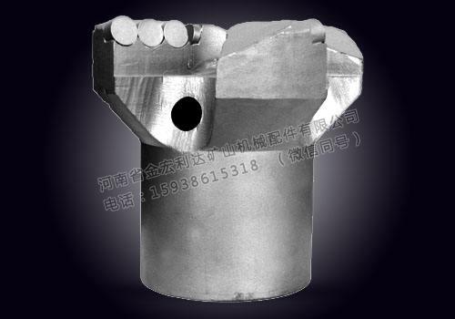 金刚石复合片内凹三翼钻头超硬复合材料