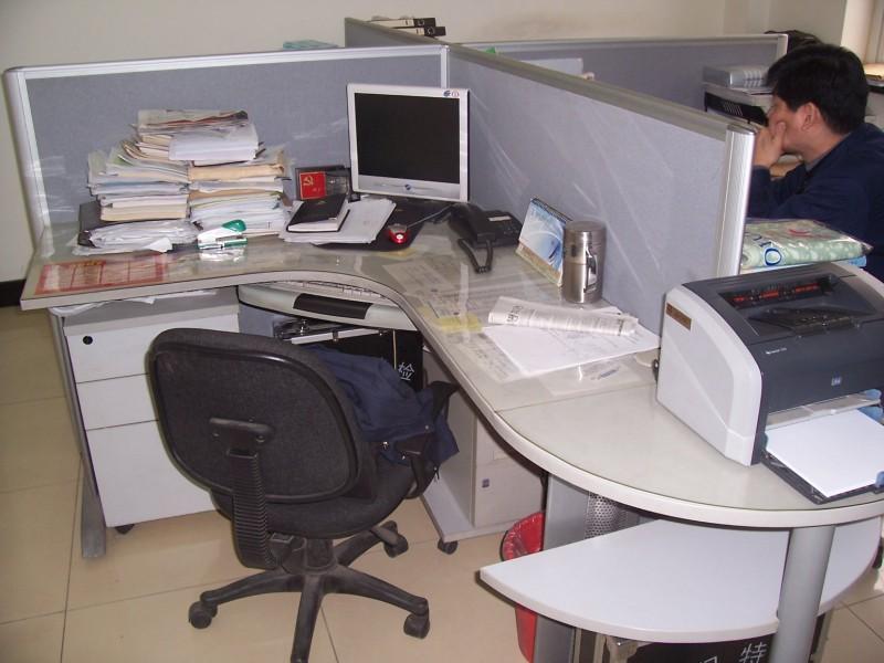 大兴办公家具桌面垫水晶板