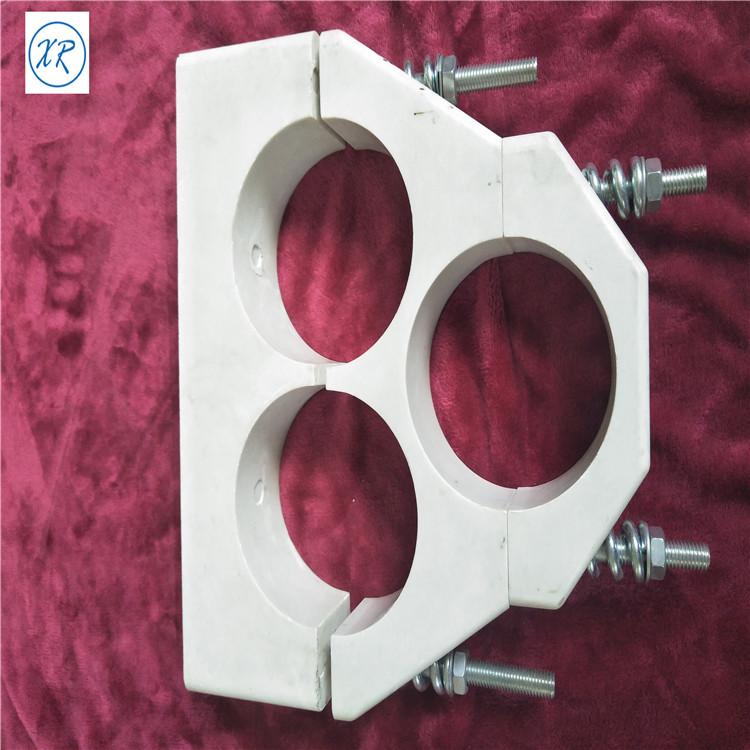 专业生产SMC电缆抱箍 复合材料品字型抱箍 电缆固定夹