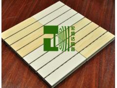 木质条纹吸音板 学校报告厅吸音材料 篮球馆吸音板 会所吸音板