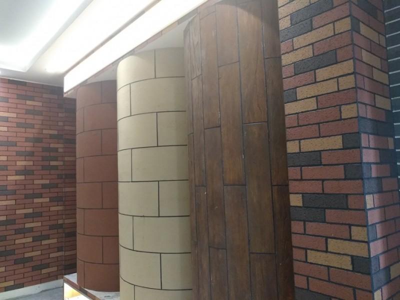 供应福建政和软瓷厂家MCM生态仿木纹绿色环保材料