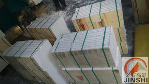 高温窑炉保温陶瓷纤维模块隔热内衬耐火棉施工厂家