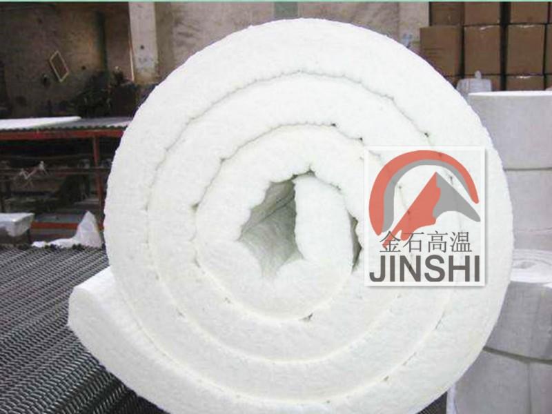 工业窑炉壁衬硅酸铝纤维毯平铺补偿毯