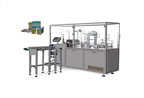 销售温州多功能全自动透明膜三维包装机多少钱鸿晖供