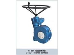 上海禹轩QDX3双级蜗轮箱,出口型蜗轮头,出口蜗轮箱照片