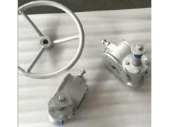 上海禹轩加工出口蜗轮蜗杆,QDX3机械阀门减速器供应