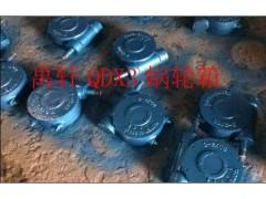上海禹轩QDX3-4/5/6手动蜗轮箱,出口型蝶阀蜗轮装置