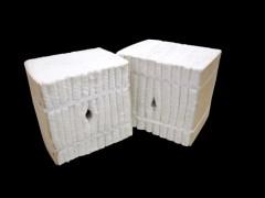 含锆型耐高温保温棉硅酸铝纤维模块