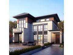 海建科莱达别墅户型:现代中式A1