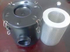 真空泵除菌过滤器      真空泵配套除菌过滤器