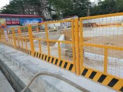 东莞塘厦厂家直销 基坑护栏 塑料护栏 铁马护栏