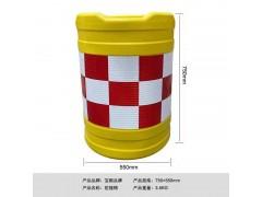 深圳罗湖防撞桶供应厂家 塑胶防撞桶 水马围挡 塑胶防撞护栏